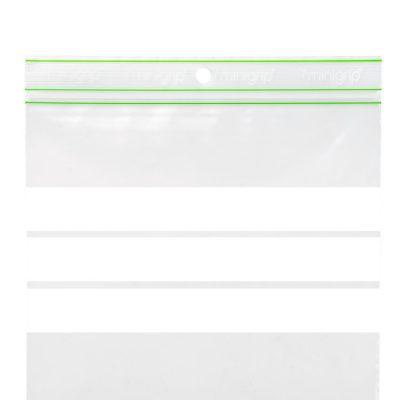 BioMinigrip® Transparent Sukkerrør/PE 60 µ m/skrivefelt