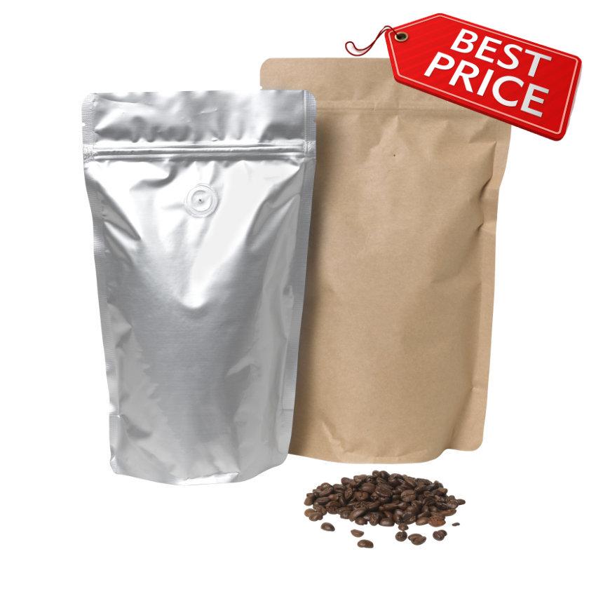 Joka Doypacks Kaffeposer med ventil